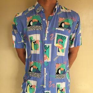 5e2ddd84 Duvin Design Co. Shirts - Duvin Design Morris Buttondown Men's Size Medium